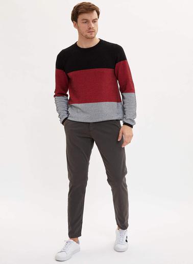 DeFacto Slim Fit Basic Pantolon Antrasit